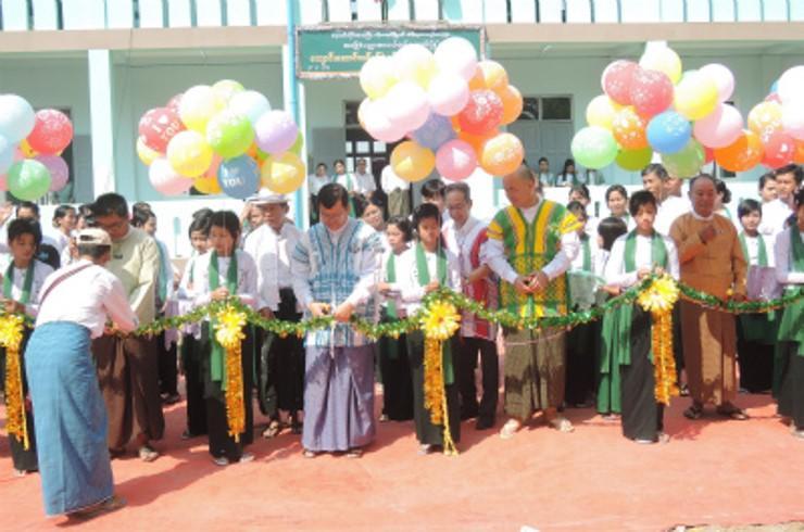 Htain Ka Lar Kone(ティンガラゴン)Branch中学校