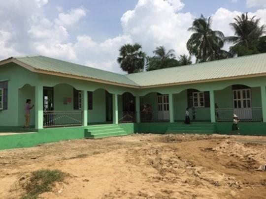 Kyee Kyaung(ジージャウン)小中学校