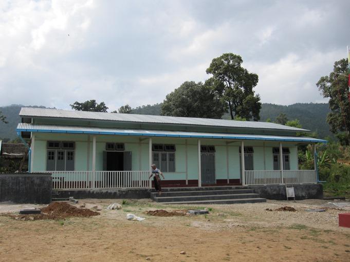 Paun Pyar(パウンピアー)公立小学校