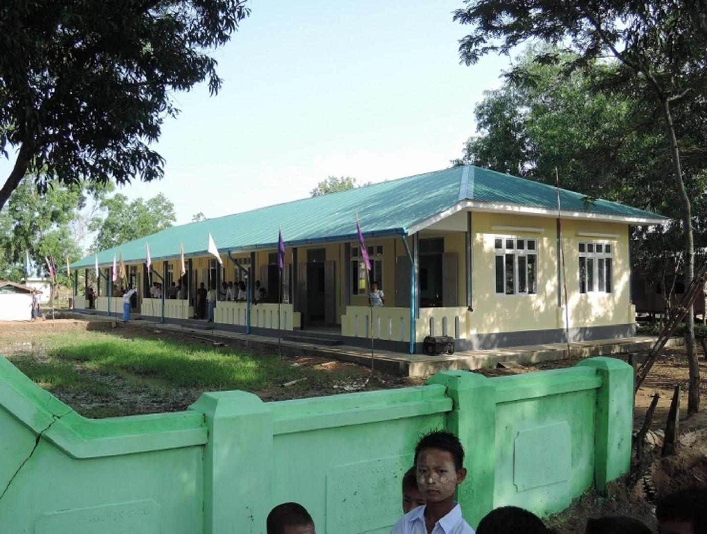 Pyanyaykyaw(ピャンイェージョン)小中学校