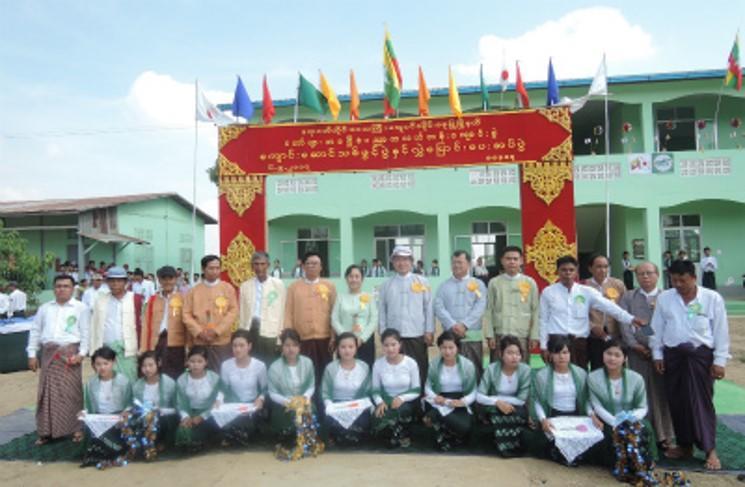 Taw Phyar(トービャー)Branch中学校