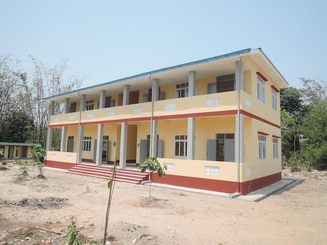 Kyats Paung BEHS(チェッパウン)高校