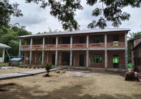 BEHS(B) InnThayo (Kyone Phyo Township) インタヨ校 校舎