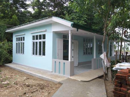 BEHS(B) Mann Sekku (Kyone Phyo Township) マンセック校図書館