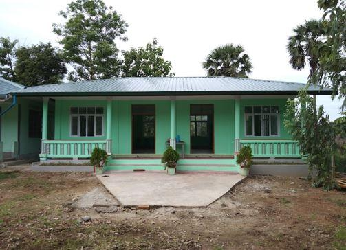 BEHS(B) Awing Kyaung Su (Hinthada Township) アワインジャウンズ校図書館